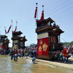 ユネスコ登録された亀崎潮干祭